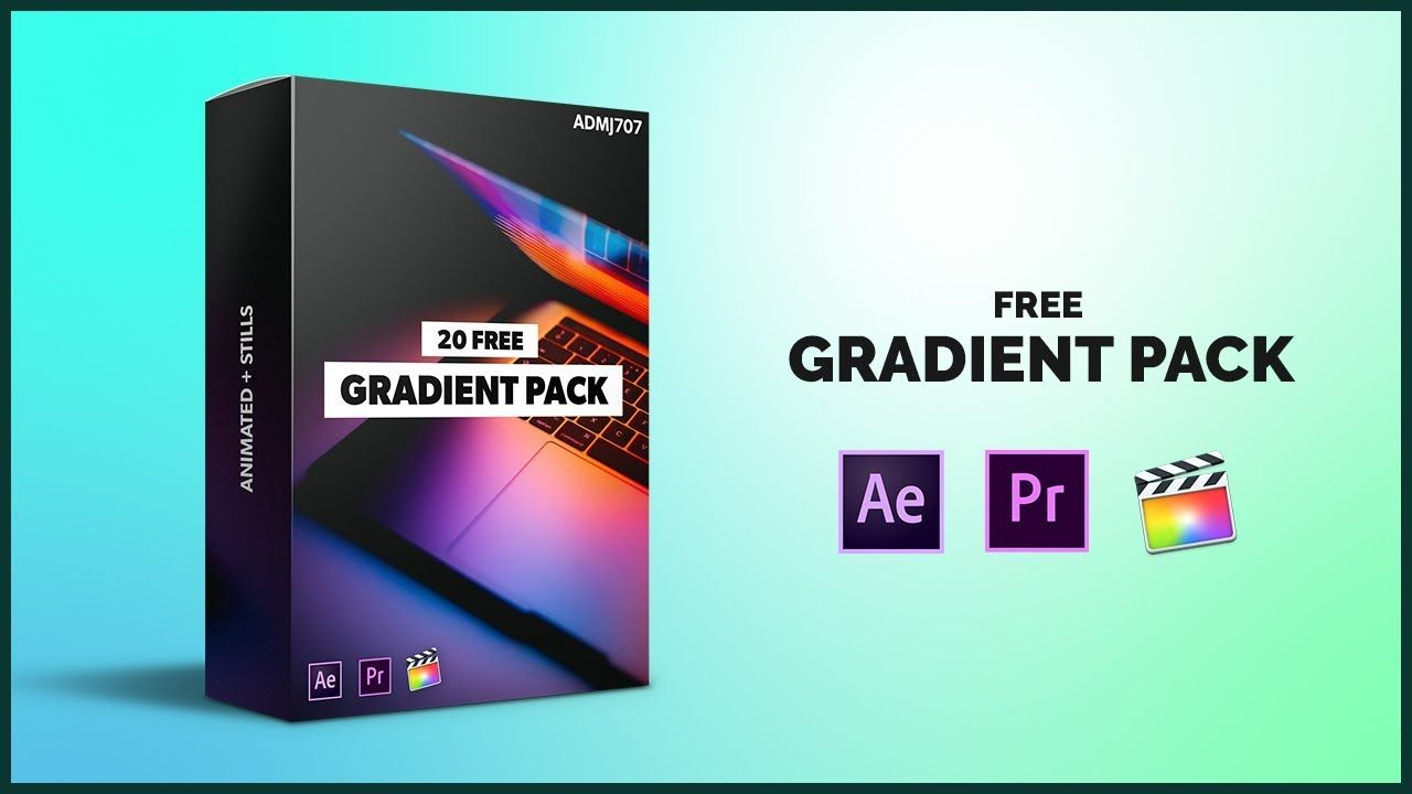 FREE) Gradient Overlay Pack - After Effects, Premiere Pro