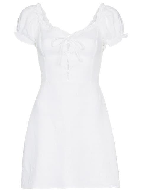 5102345ab7 Shop Reformation klara linen dress