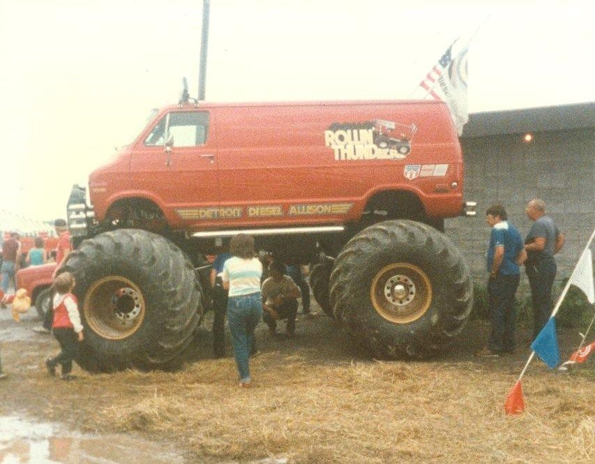Rollin Thunder Taken At The Syracuse Mile Big Rig Race 1986