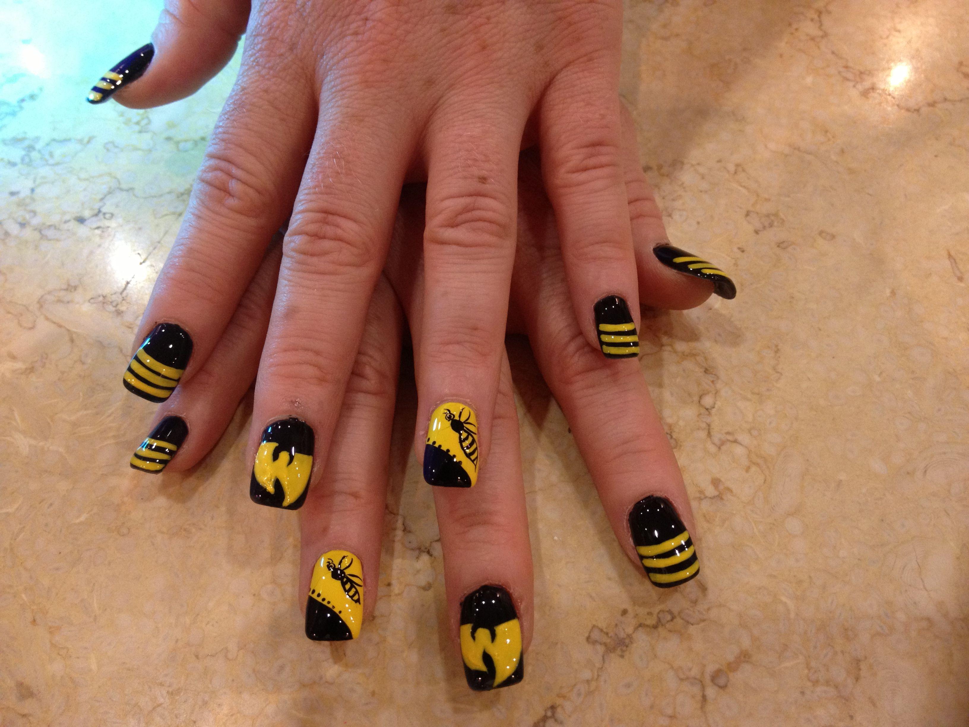 Wu-tang nails! | WuTang | Pinterest | Wu tang and Style nails