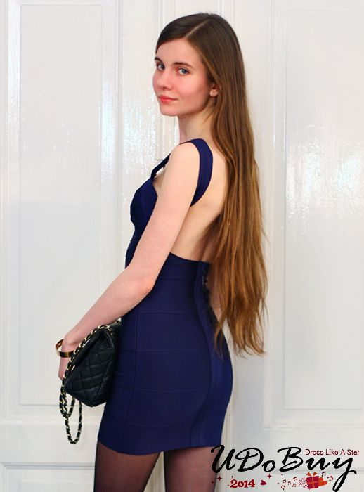Ariadna Majewska In Dark Blue Halter Bandage Dress H612$99. Good news,now you can get our one free gift when your order is over $119,welcome to my store: http://www.udobuy.com/search.php?intro=daily_new @Nemanja @Ne Ja @Nur BİLİCİ @Neille Hepworth @Nika Martinez