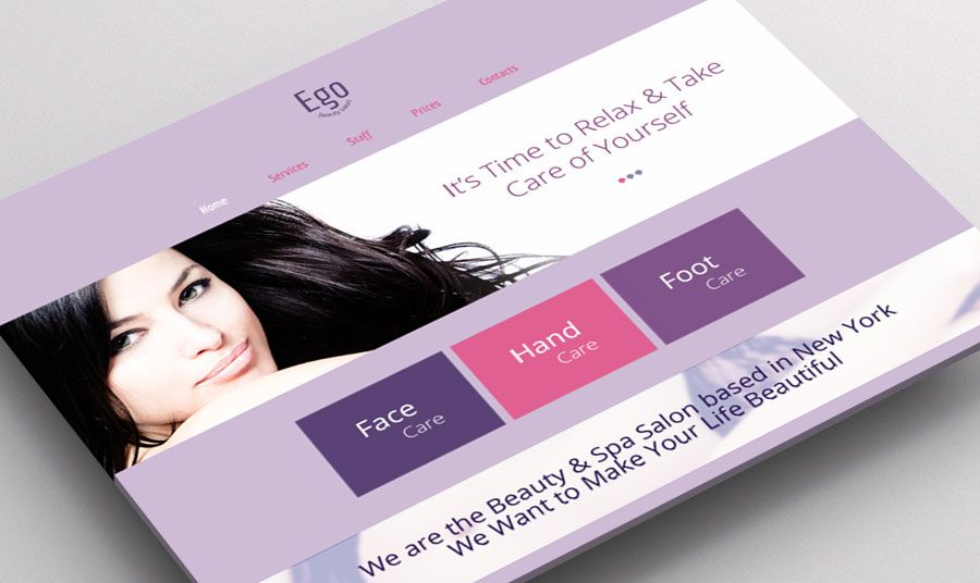 Meet Radiant Orchid The Color Of The Year In Free Html5 Theme For