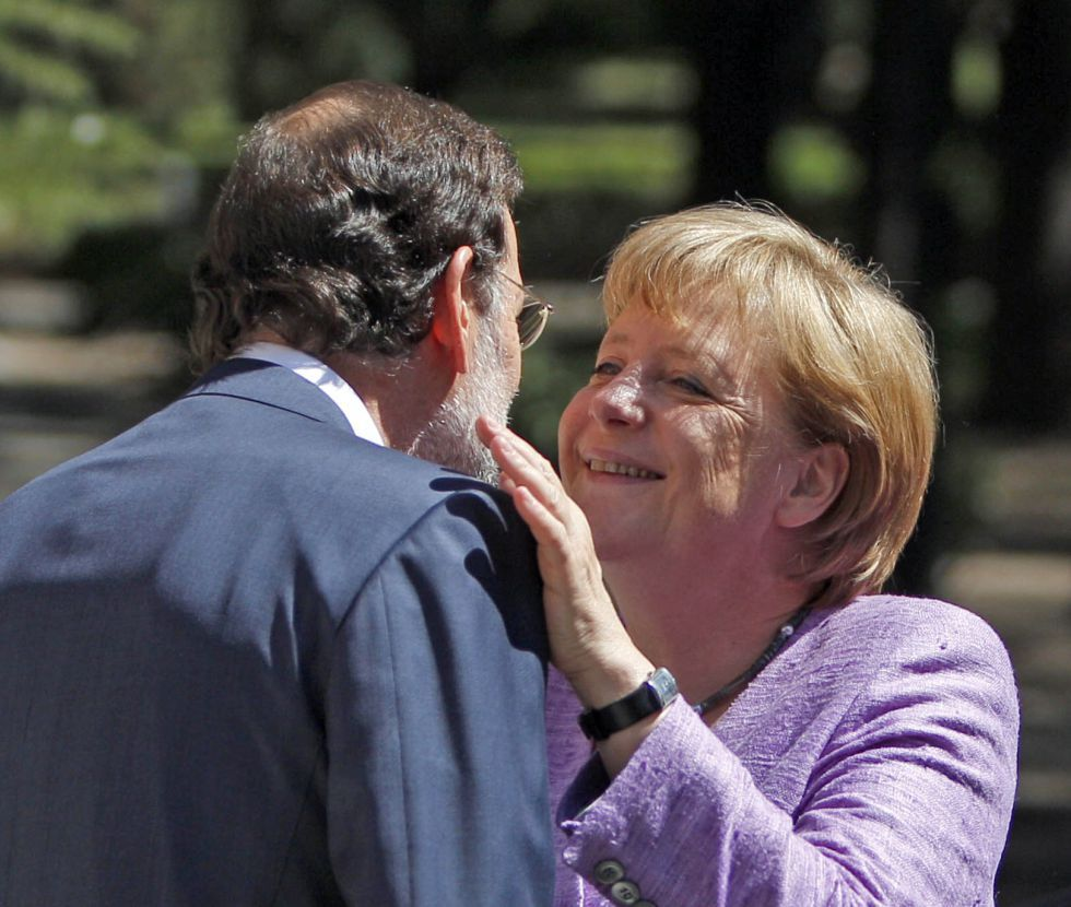 Merkel visits Spain | Fotogalería | Política | EL PAÍS