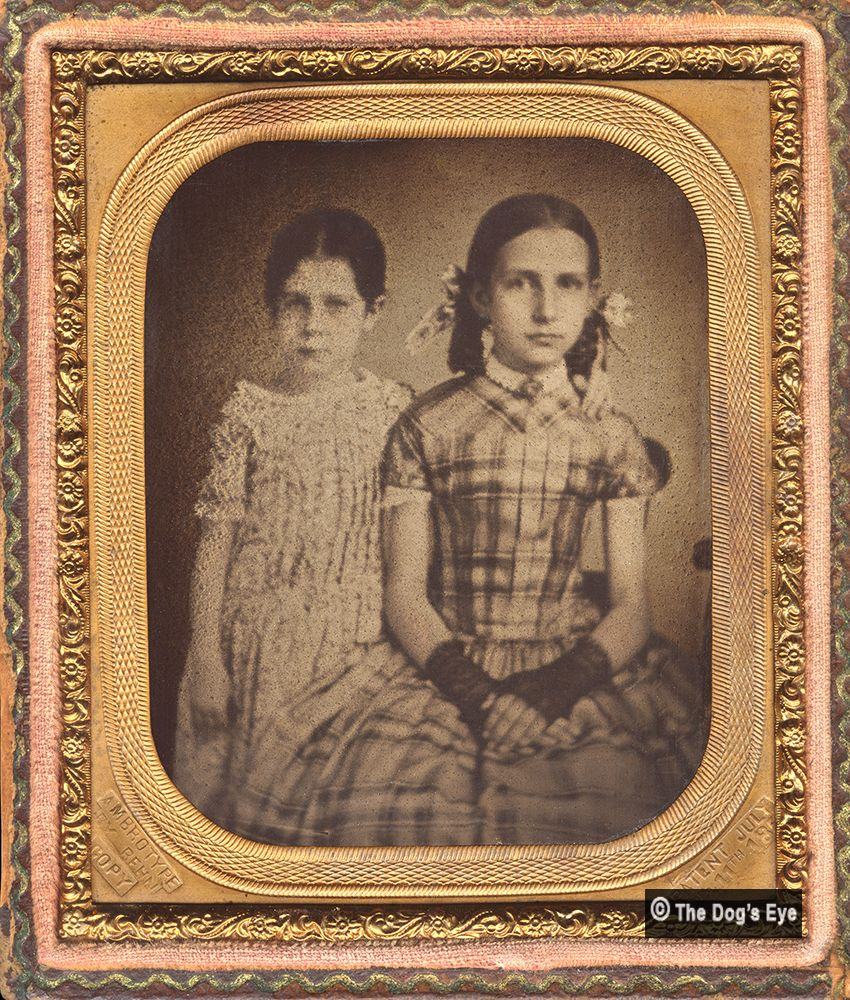 All sizes | Sisters: Ambrotype c1860 | Flickr - Photo Sharing!