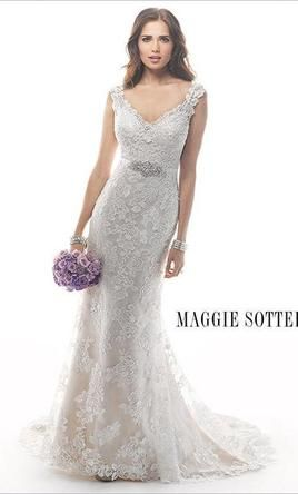 New (Un-Altered) Maggie Sottero Lark (4MS870) Wedding Dress $1,000 USD. Buy it PreOwned now and save 735 off the salon price!