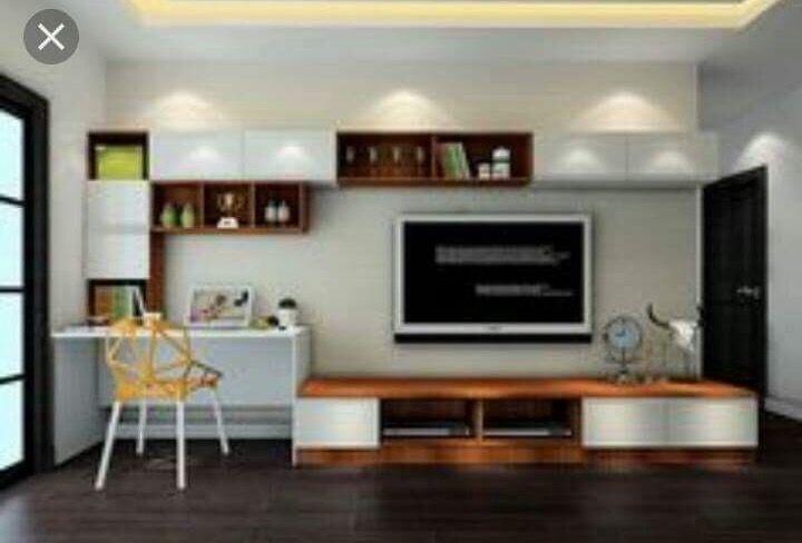 Pin By Imen Rais On Tv Stand Ideas Desk In Living Room Living