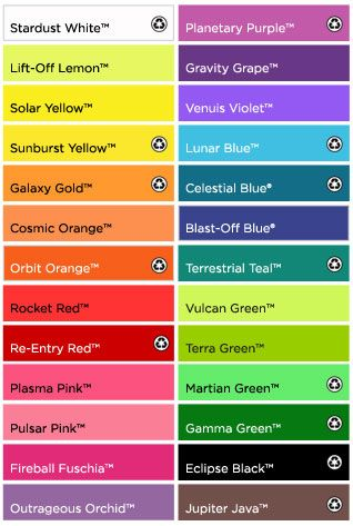 Wausau astrobrights paper color chart also pinterest colour rh