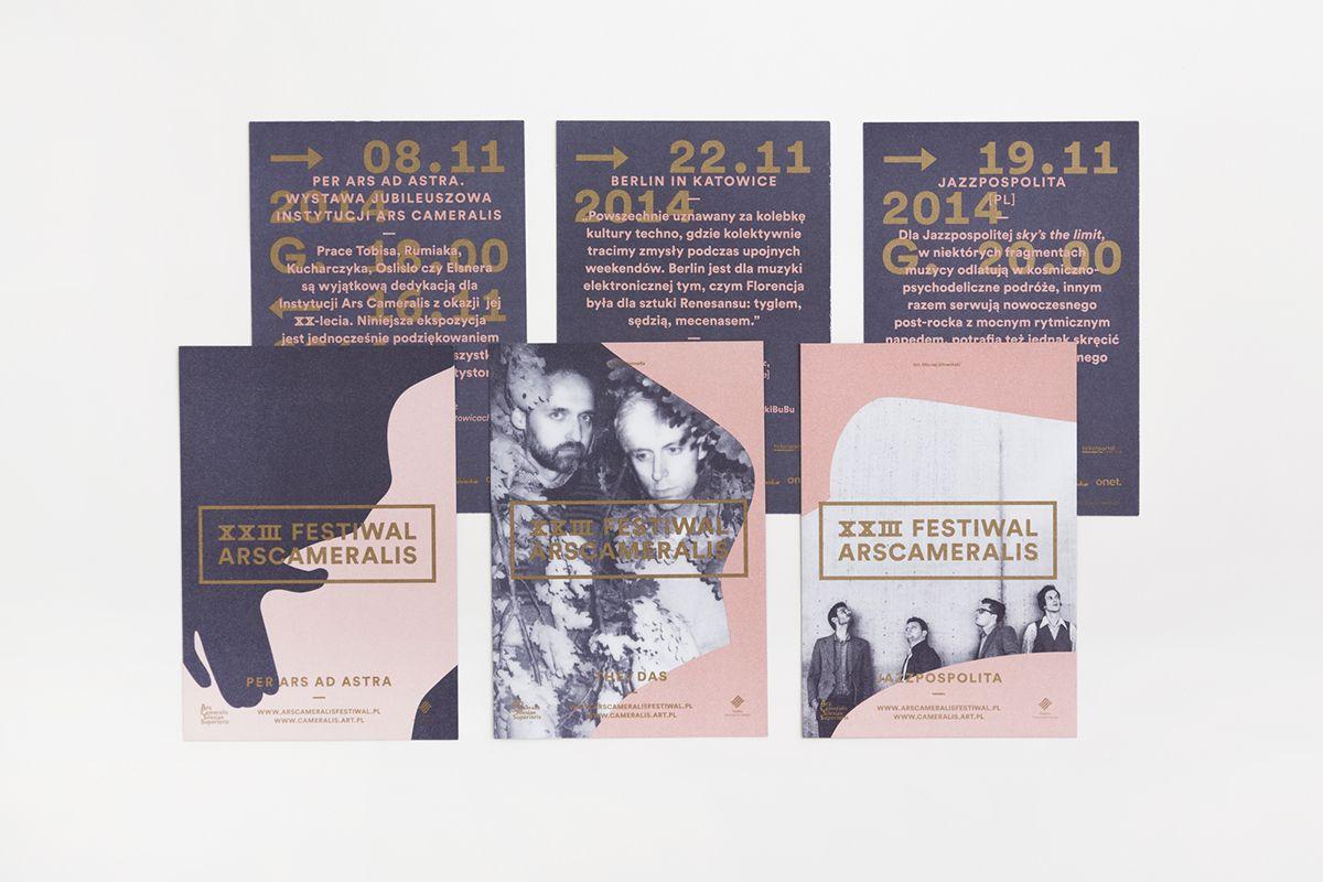 Ars Cameralis Festival 2014 on Behance