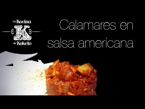 Calamares en salsa americana. koketo. Video #recetas de #platos @joao victorómicos elaborados por @chefkoketo. Puedes ver esta y otras #recetas en nuestro blog de #gastronomia http://koketo.es o bien siguiendones en twitter @Jorge Hdez Alonso. #koketo