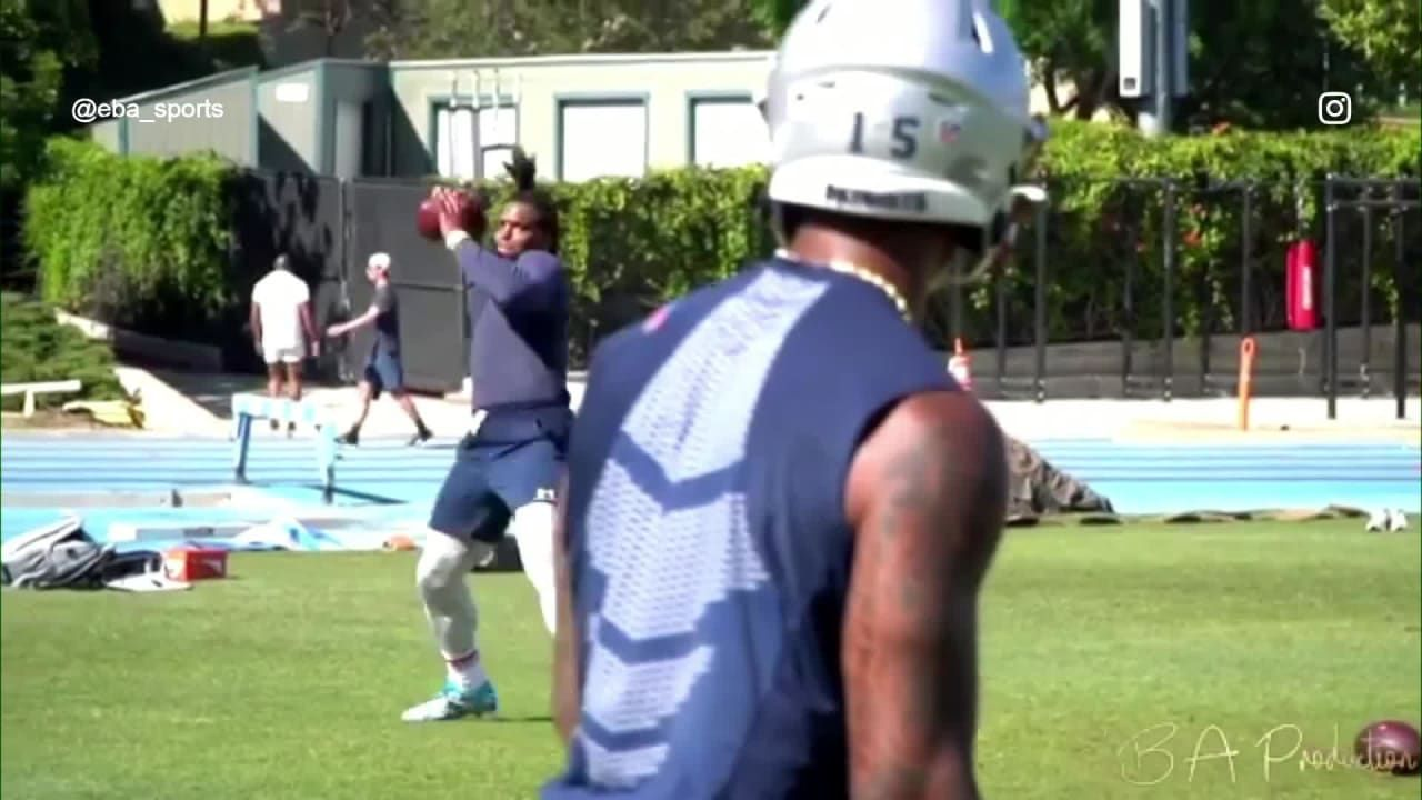 Pats Cam Newton Meets Up With N Keal Harry For Throwing Session Nfl News In 2020 Nfl News Cam Newton Nfl