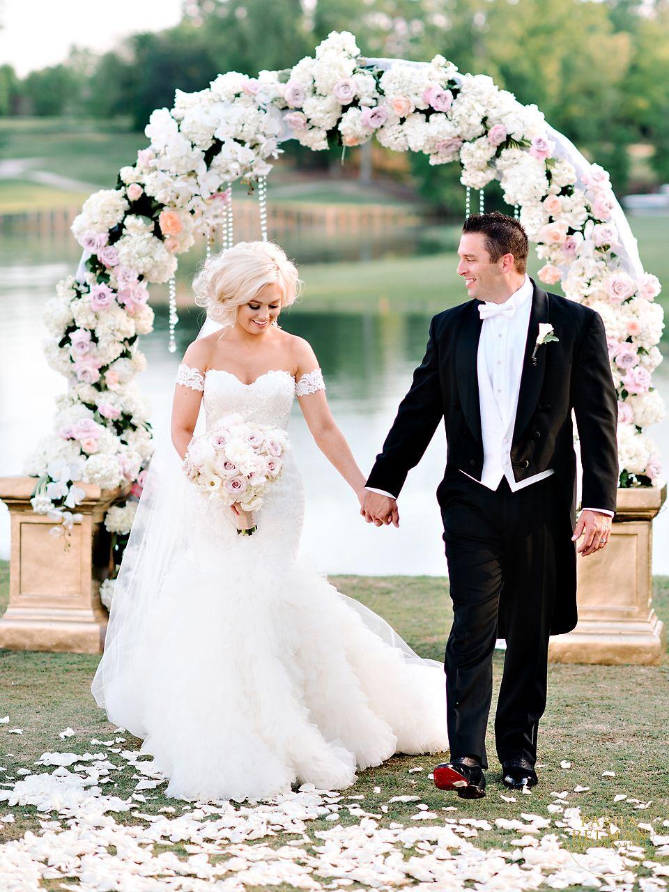 Whitney + Shawn North carolina wedding, Wedding