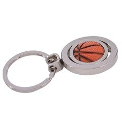 Double Ring Sports Themed Keychain (Basketball)