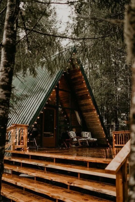 65 Genius Ideas For Your Tiny House Cabin Project 3 In 2020 Tiny House Cabin House In The Woods Rustic Home Interiors