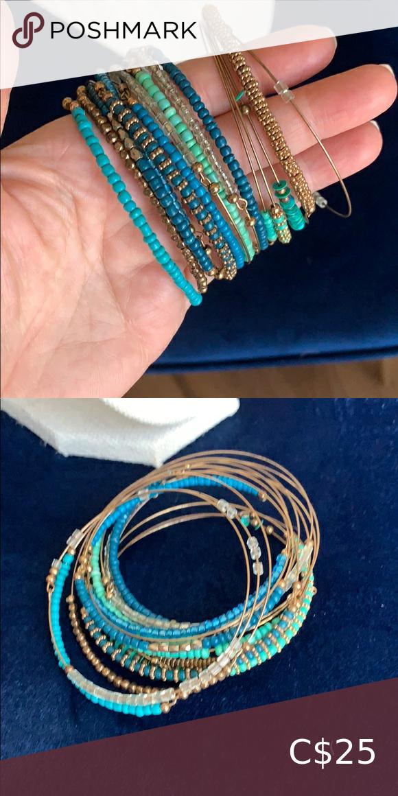 Stackable bracelets Ideal for a larger wrist Jewelry Bracelets
