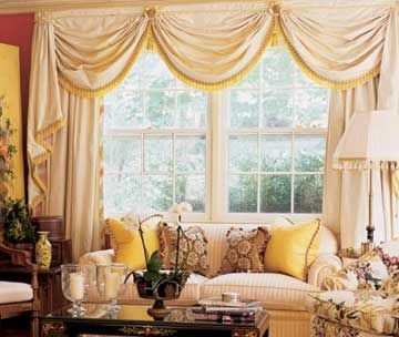 Ideas For Multiple Windows Living Room And Dining Room Decor Interesting Living Room Dining Room Curtains
