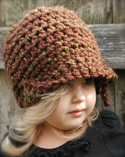 Ravelry: The Mylie Cloche\' pattern by Heidi May thevelvetacorn.etsy ...
