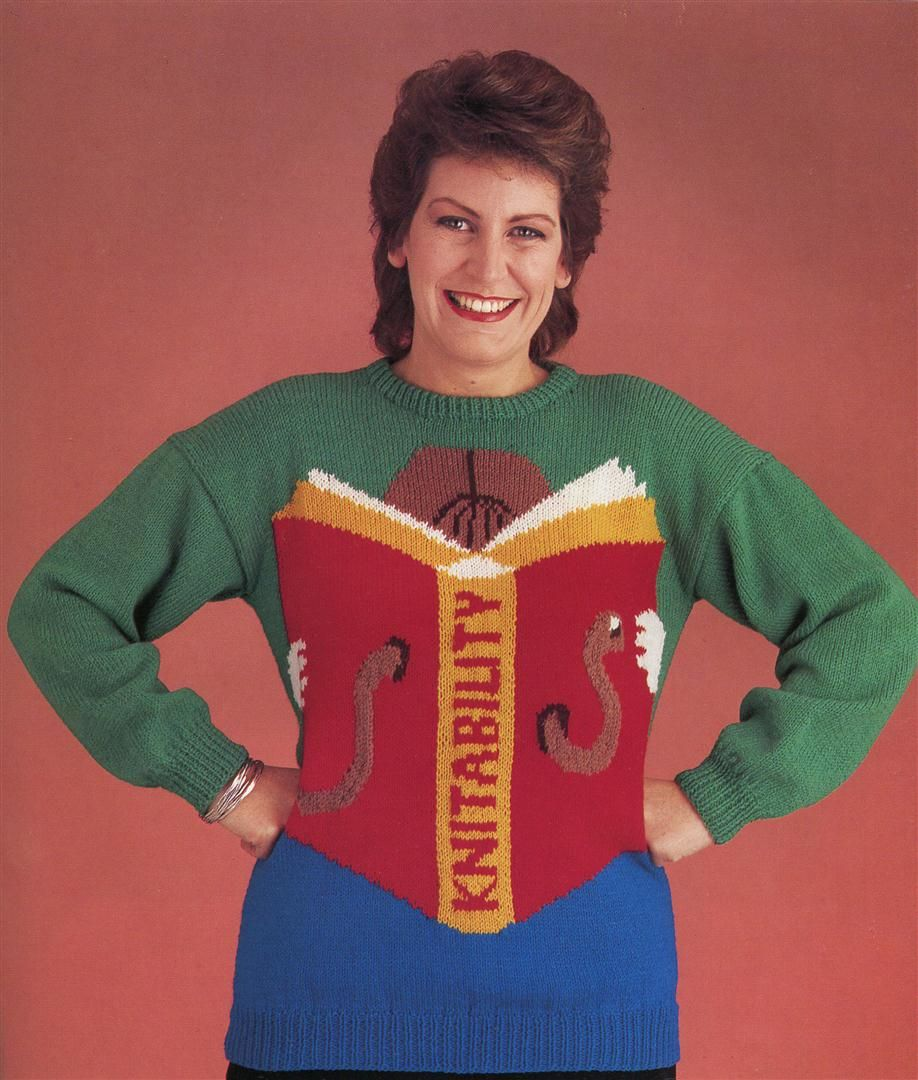 32cfa4083c 25 Incredibly Ugly Knitted Sweaters from the 1980s