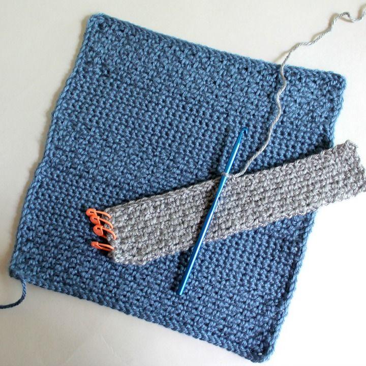 Square 6! Crochet Along Afghan Sampler (June) | Cobija, Cosas para ...