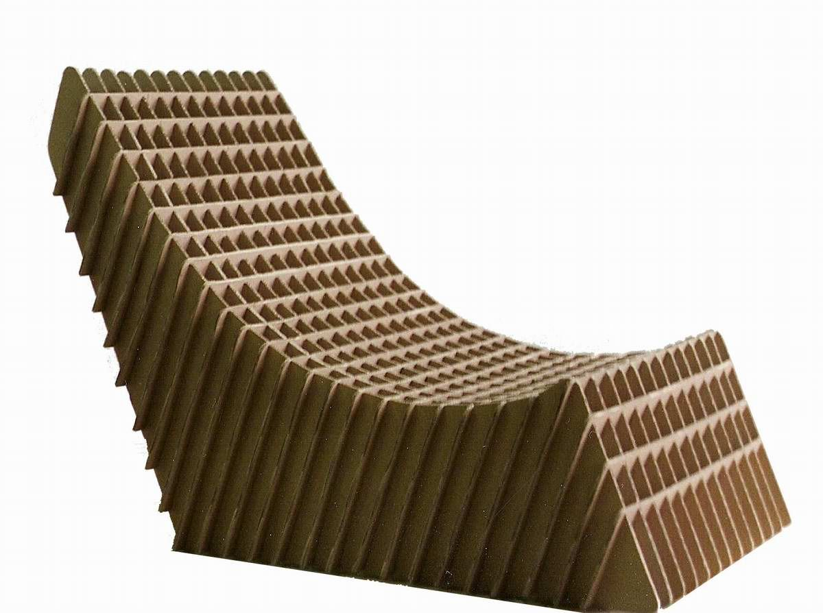 Comfortable cardboard chair designs - Originally Introduced By World Renowned Architect Frank Gehry Cardboard Furniture Puts A Unique Spin On Everything You Ve Ever Known About Design After