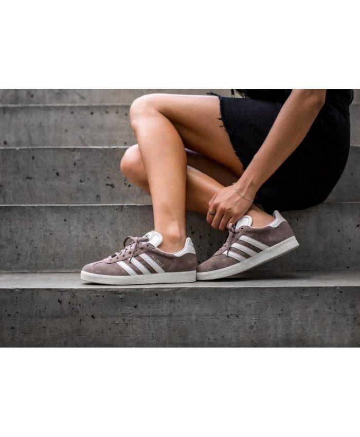 ladies black adidas gazelle trainers