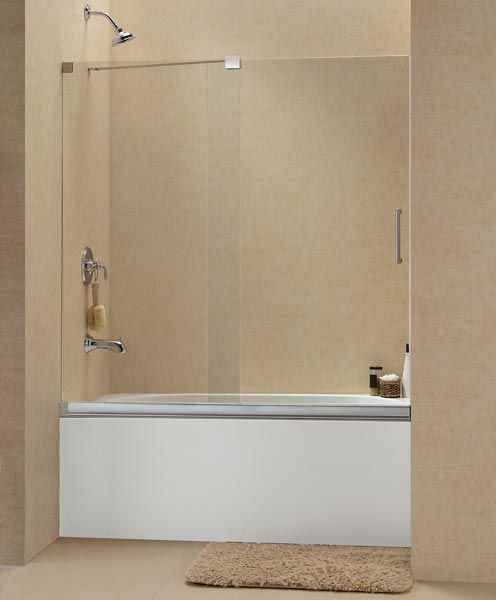 Dreamline Showers Mirage Sliding Shower Door Bathtub Enclosures