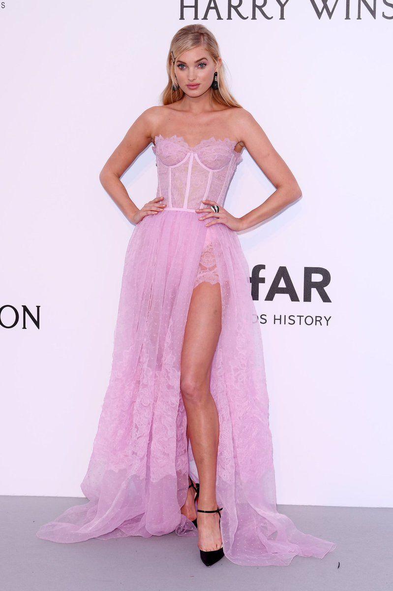 "dailyhosk: """" Elsa Hosk attending the 2017 amfAR Gala during 70th ..."