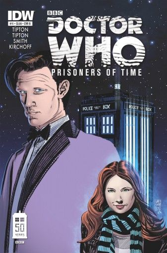 Doctor Who: Prisoners of Time. Issue #11 in the series moves the story toward the finish line.