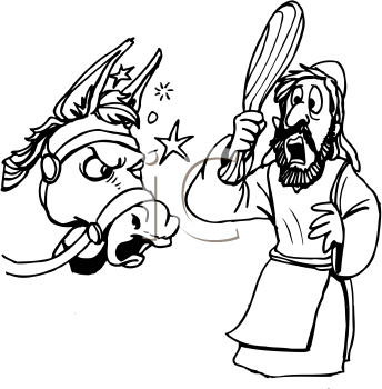 balaam and the talking donkey crafts - Google Search   Sunday School ...