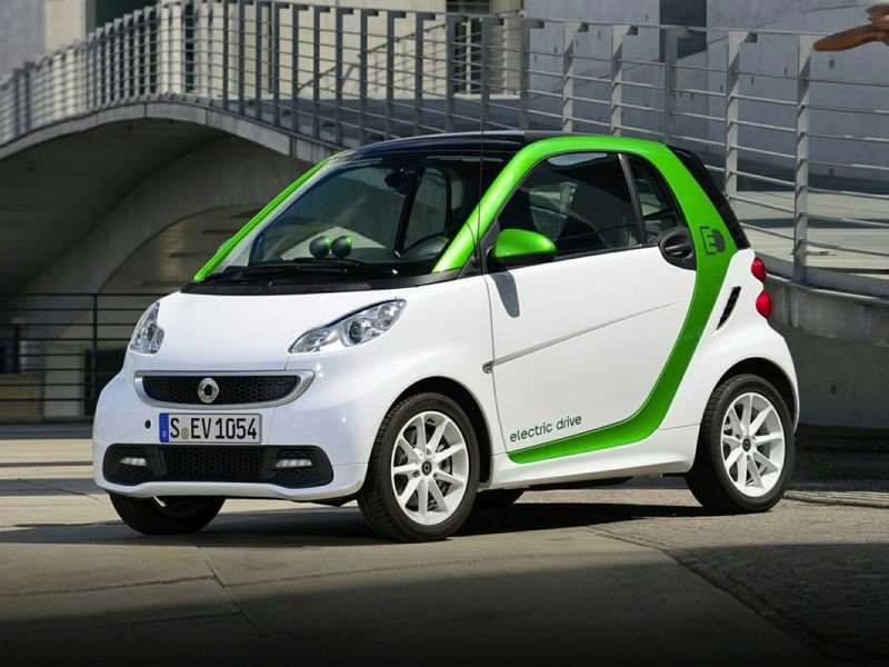 2015 Smart Fortwo Electric Drive Hybrid Car Best Gas Mileage