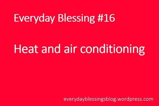 Everyday Blessing 16 With Images Heating And Air Conditioning