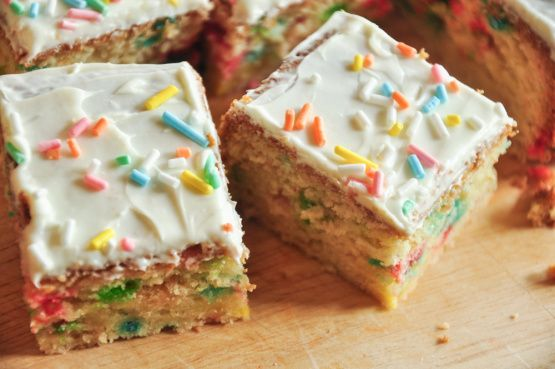 Make and share this Funfetti Bars recipe from Food.com.