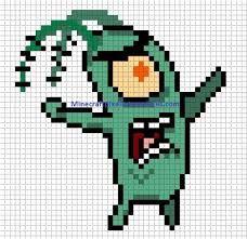 Resultado De Imagen De Perler Beads Plantillas Minecraft