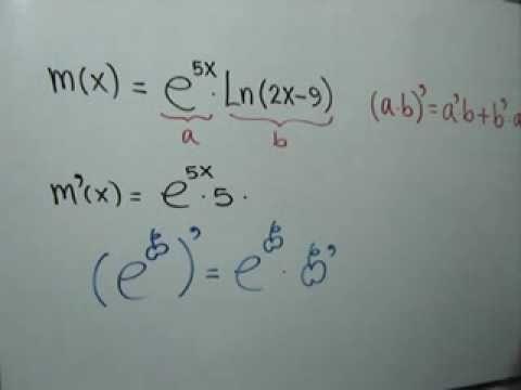 Derivada de un producto: Julio Rios explica cómo derivar una función utilizando la Regla del Producto