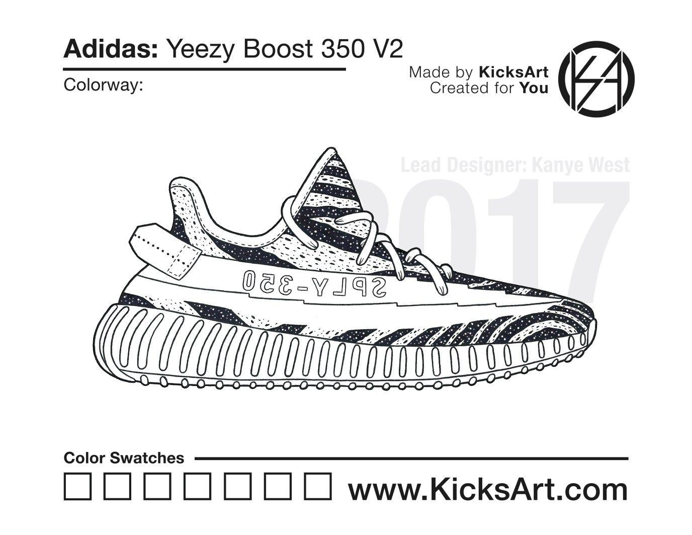 Adidas Yeezy Boost 350 V2 - KicksArt in