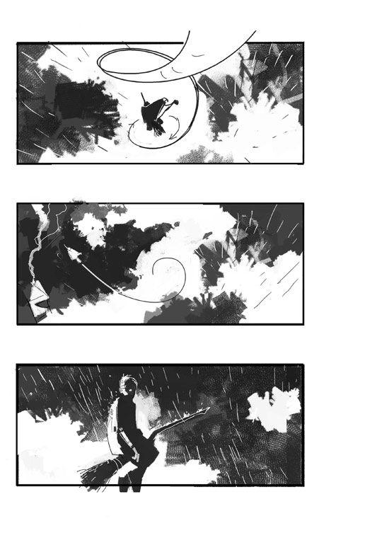 Dermot Power  Concept Designer  Art Comic