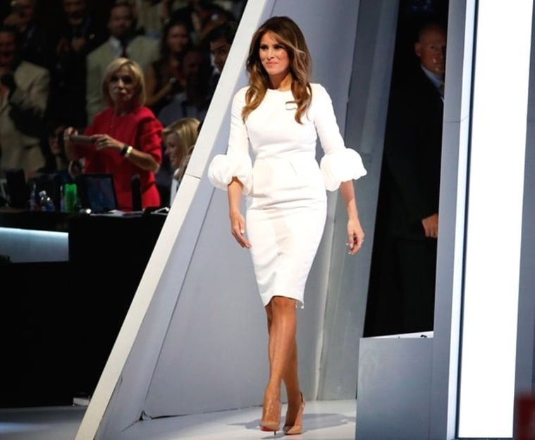 Is Melania Trump the new Jacqueline Kennedy of White House fashion ...