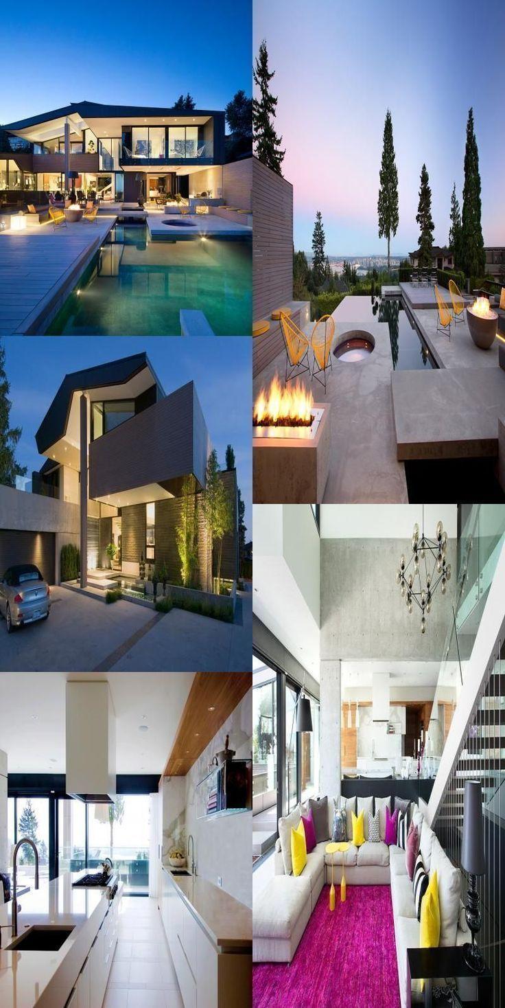 Photo of Moderne Vancouver Villa # Moderne #Villa #in #Vancouver # dekoration – Eingang …