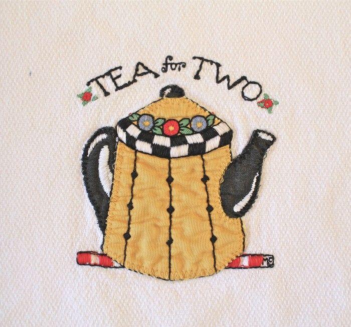 Mary Engelbreit tea towel