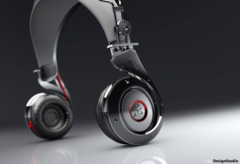 2009.HeliX-IR Concept headphone on Behance
