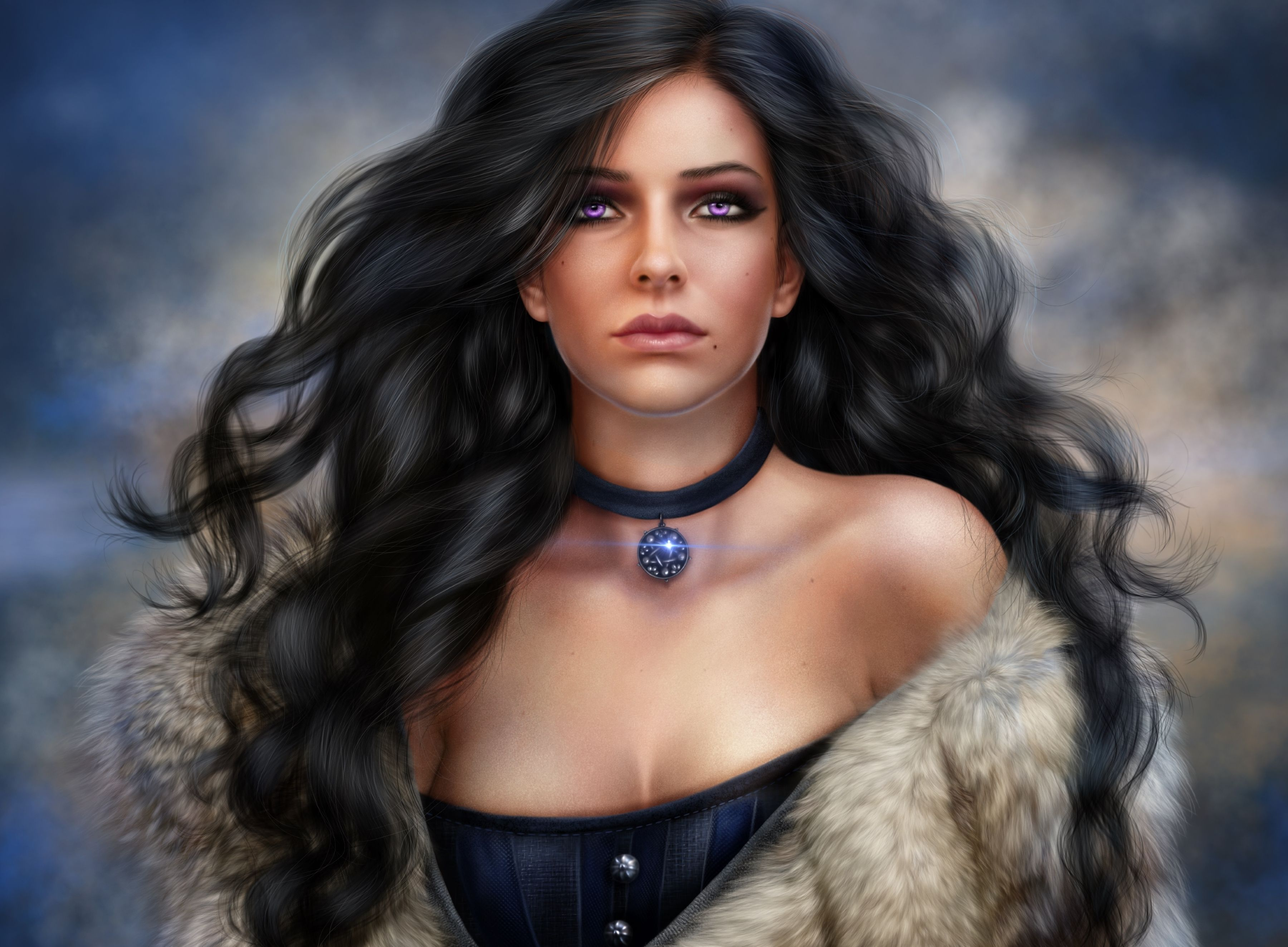 Video Game The Witcher 3 Wild Hunt Yennefer Of Vengerberg