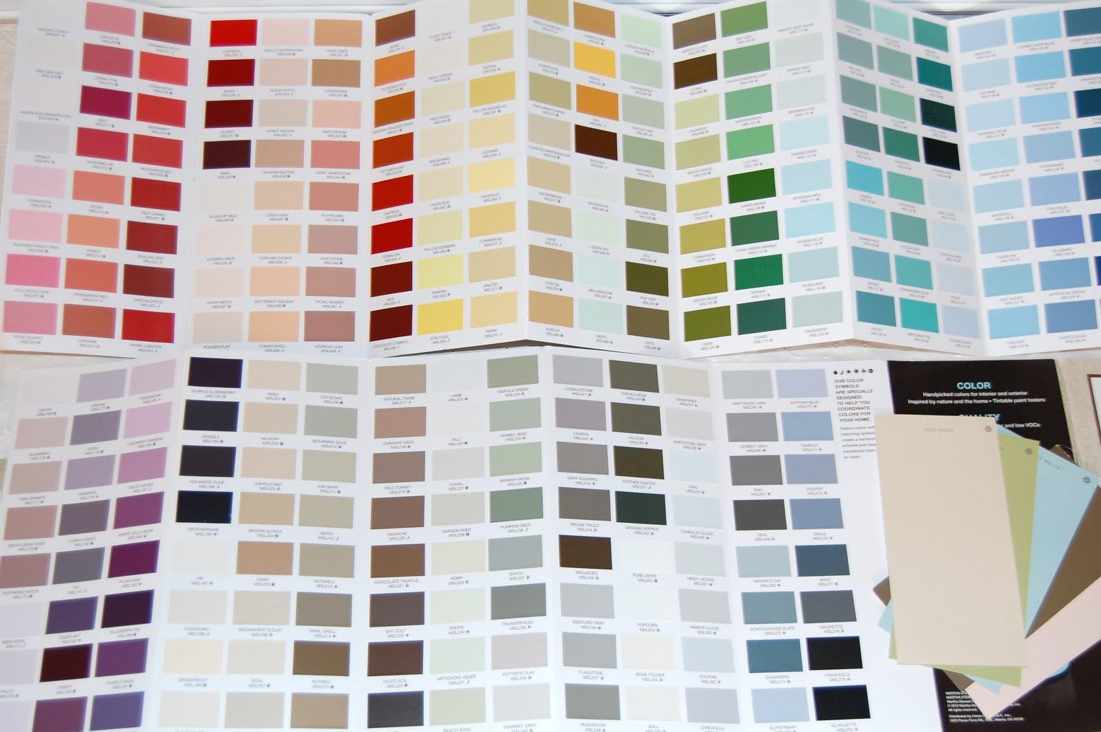 All Of The Martha Stewart Paint Colors .