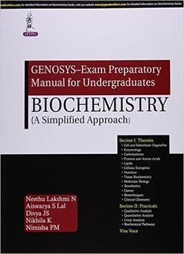 Genosys Exam Preparatory Manual For Undergraduates Biochemistry
