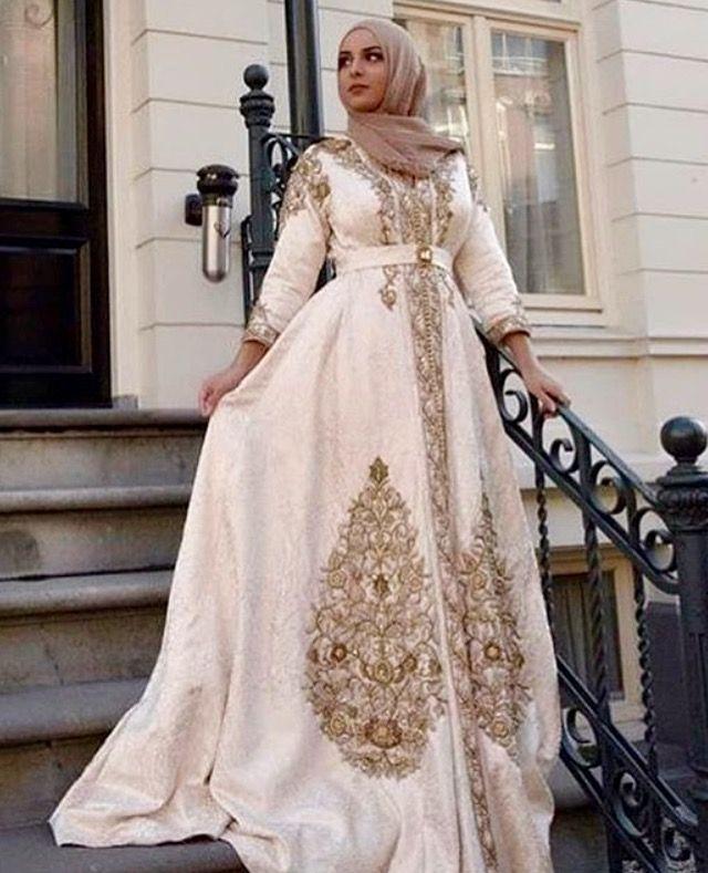 293f6b70d2 Caftan du Maroc Hijab Wedding, Arabic Wedding Dresses, Morrocan Dress, Moroccan  Caftan,