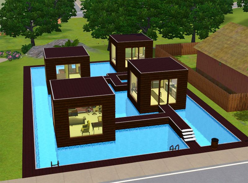 Mod The Sims Water Chestnut Sims 3 Houses Ideas House Plan Gallery Sims 2 House
