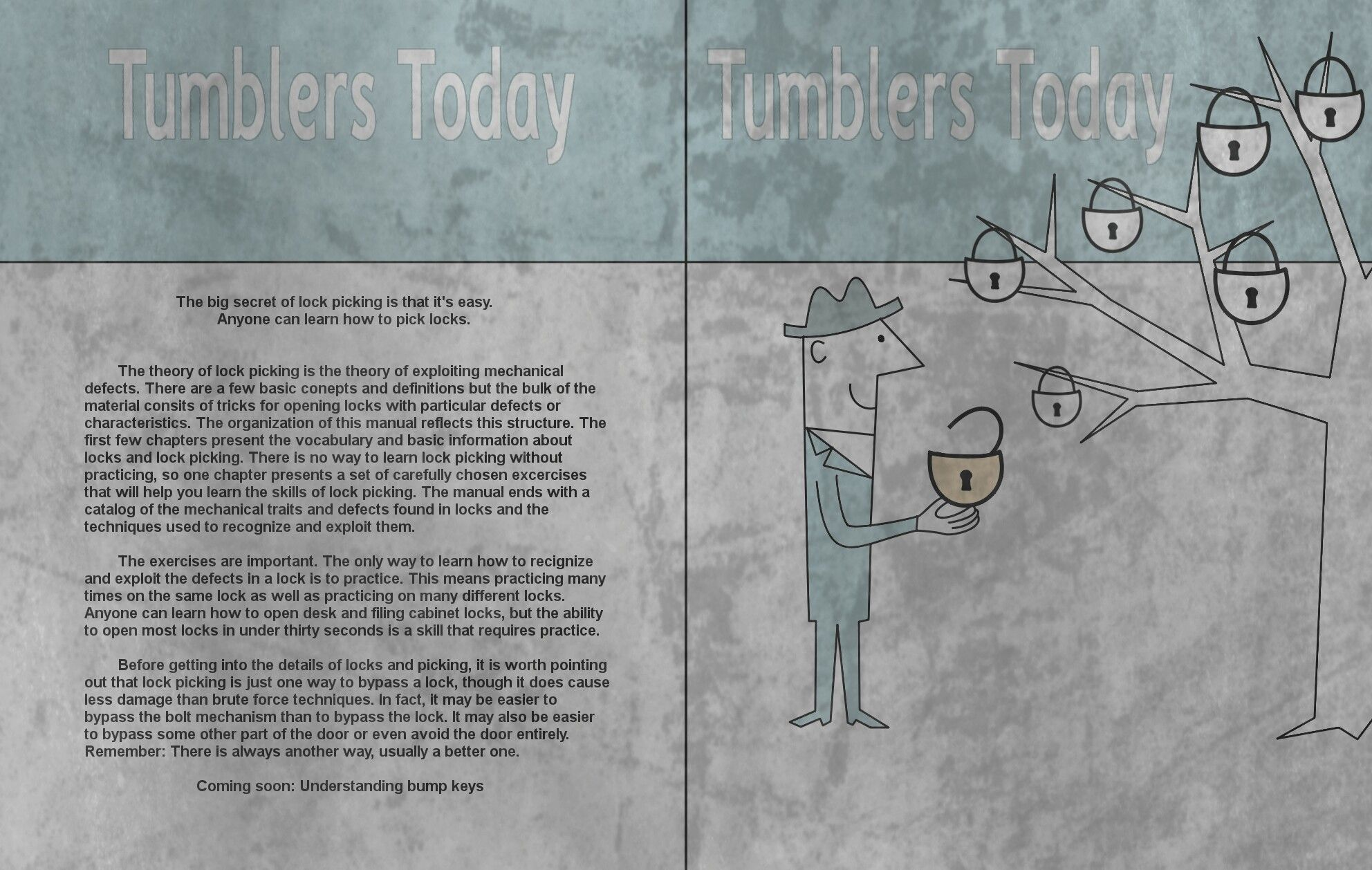 Tumblers today cover