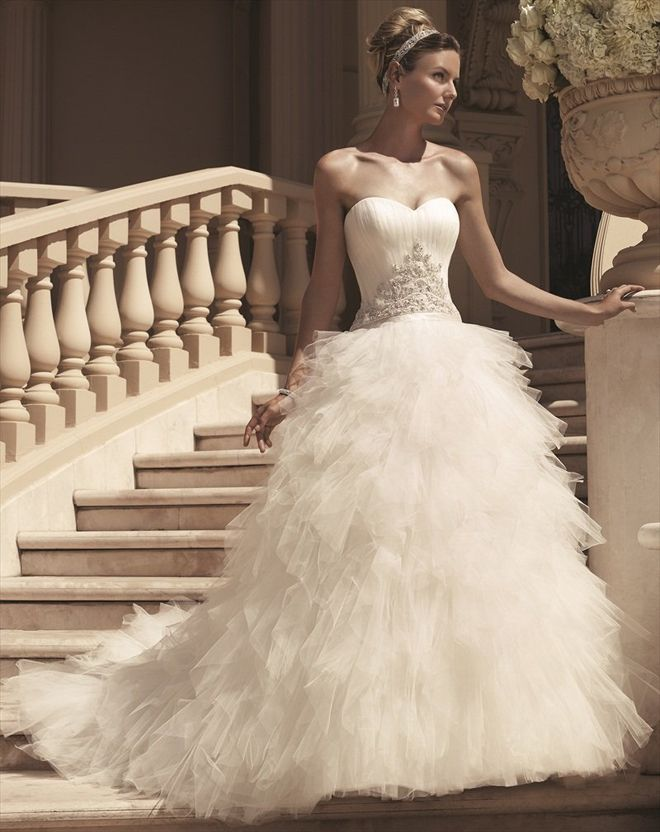 Casablanca Bridal spring 2013