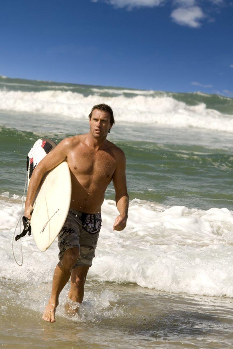bondi beachs head lifeguard