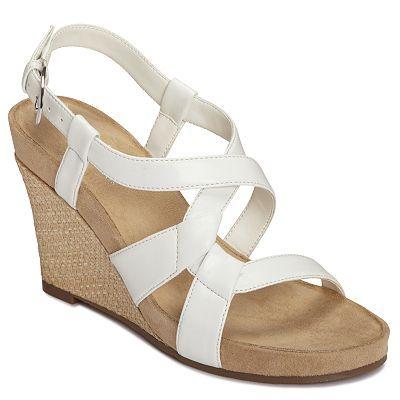 Wedge sandals, Trendy high heels