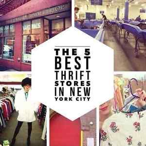 "The Best Mega Thrift Stores in the Big Apple I'm often asked, ""Where do you go thrift store shopping in NYC?""   Google searching for ""thrift stores NYC"" returns a long list of stores. Some have better..."