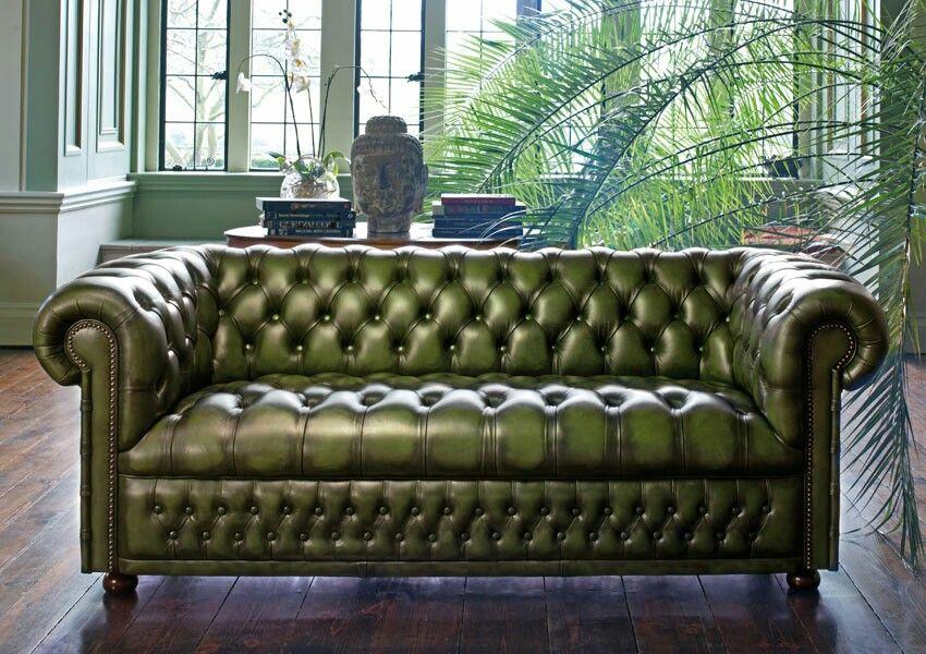 Chester Chester Zelenyj Divan Sekcionnye Divany Sofa